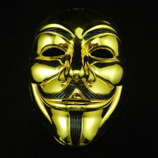 cosplay mask v venedik için maske anonim film adam fawkes cadılar bayramı maskeli maske maske parti kostüm pervane