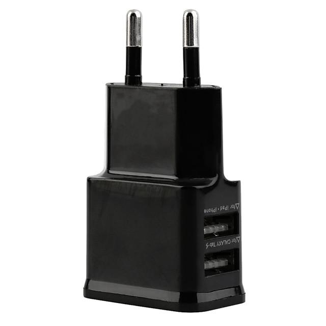 Încărcător Casă / Încărcător Portabil Încărcător USB Priză EU Multi Porturi 2 Porturi USB 2.1 A pentru