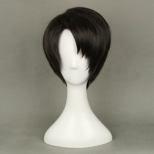 anime levi ackerman from attack on titan brown cosplay wig ...