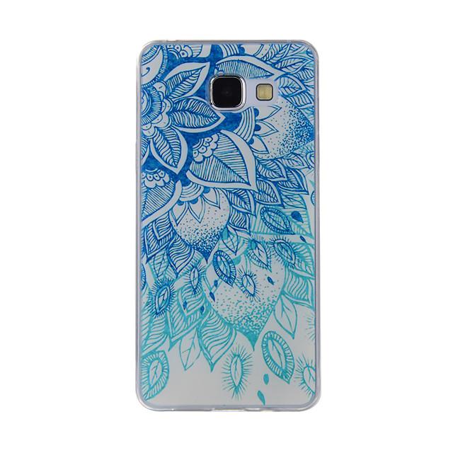 Capinha Para Samsung Galaxy A8(2016) / A5(2016) / A3(2016) Estampada Capa traseira Lace Impressão Macia TPU