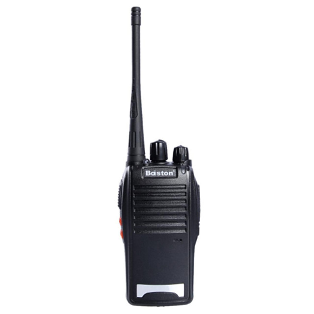 baiston-BST 688 5W-16 canale 400.00-470.00mhz walkie talkie - negru