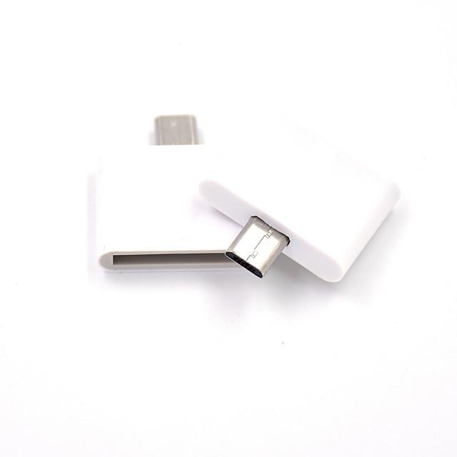 Micro USB Adapter <1m / 3ft Plastice Adaptor pentru cablu USB Pentru Samsung