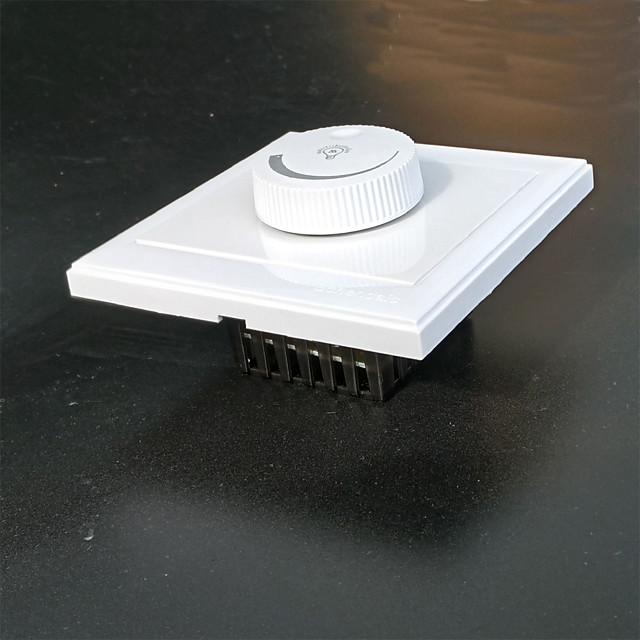 zdm 300w ac220v ลูกบิด 50hz นำสวิตช์หรี่ไฟสวิตช์ไฟฟ้าสำหรับศิลปะของการเปิดและปิดโคมไฟและโคมไฟ