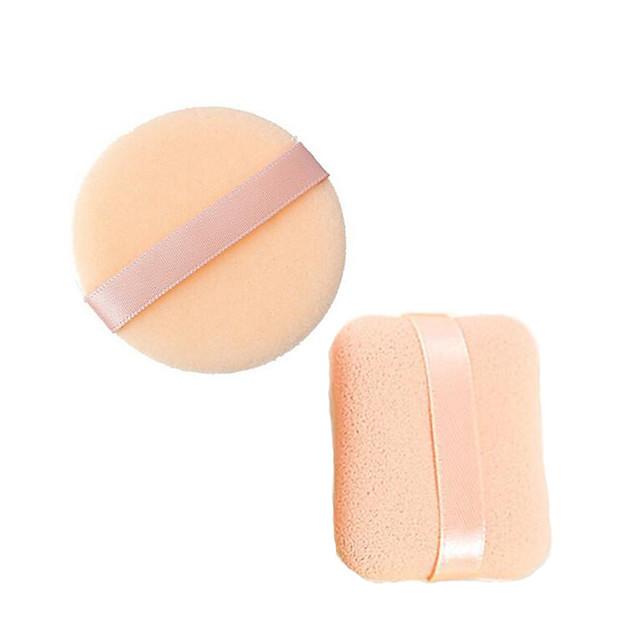 Aplicatoare de Machiaj Puf pudră Bureți de machiaj Ne-Toxic & Fără Gust / Convenabil Faţă Clasic Lin / Stativ / Durabil Zilnic Machiaj Cosmetic Bureți naturali