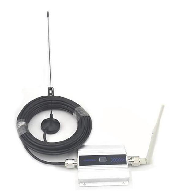 Display LCD Mini GSM 900MHz Telefon mobil Signal Booster, GSM Repeater Signal + Antena cu 10m de cablu
