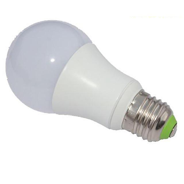 5 W Bulb LED Glob 450-500 lm E26 / E27 A60(A19) 1 LED-uri de margele COB Intensitate Luminoasă Reglabilă Alb Rece 220-240 V / RoHs