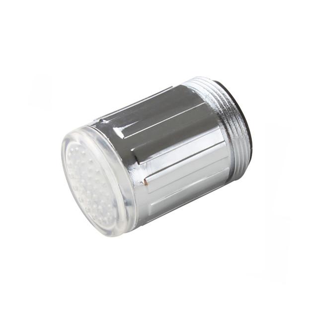 Contemporan Lumină Robinet Crom / Plastic Caracteristică - LED, Cap de dus