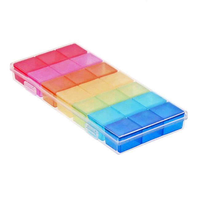Carcasă Cutie Pilule Călătorie Sigilat pentru Accesorii Călătorie pentru Urgență
