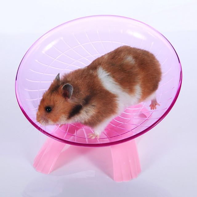 Knaagdieren Hamster Hamsterwielen Muovi Blauw Roze