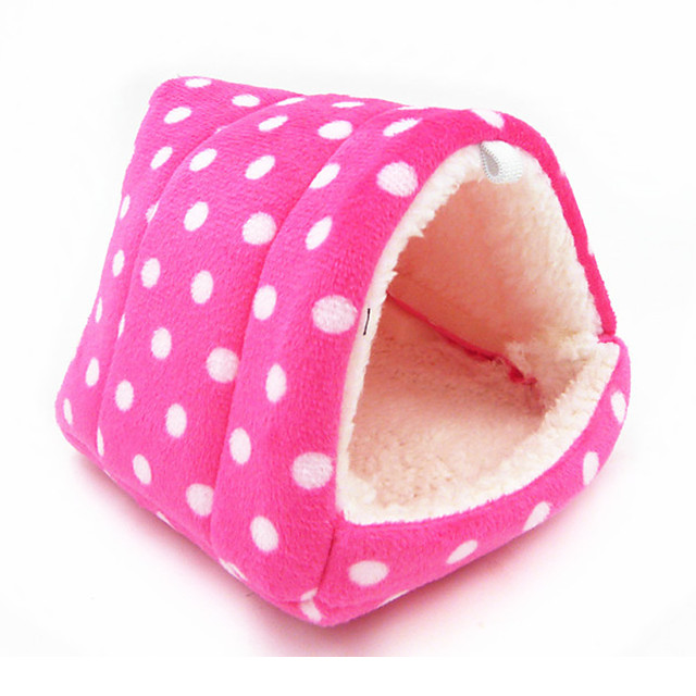 Rodents Beds Foldable Cotton Blue Pink