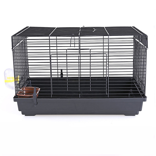 Rodents / Rabbits / Chinchillas Plastic / Metal Cages Black / Blue / Pink
