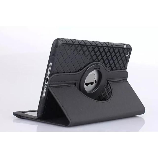 Maska Pentru Apple iPad 4/3/2 Cu Stand / Origami Carcasă Telefon Mată PU piele