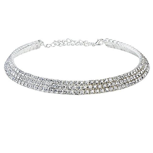 Pentru femei Lănțișor Y Colier Floare Aliaj Argintiu Coliere Bijuterii Pentru Petrecere Ocazie specială Zi de Naștere Party / Seara Cadou Casual / Zilnic