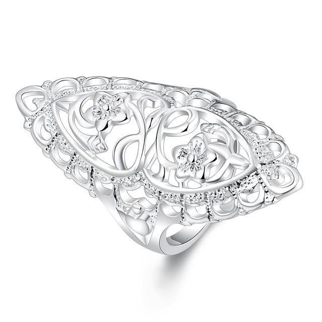 Gyűrű Ezüst Réz Ezüstözött 6 7 8 9 10