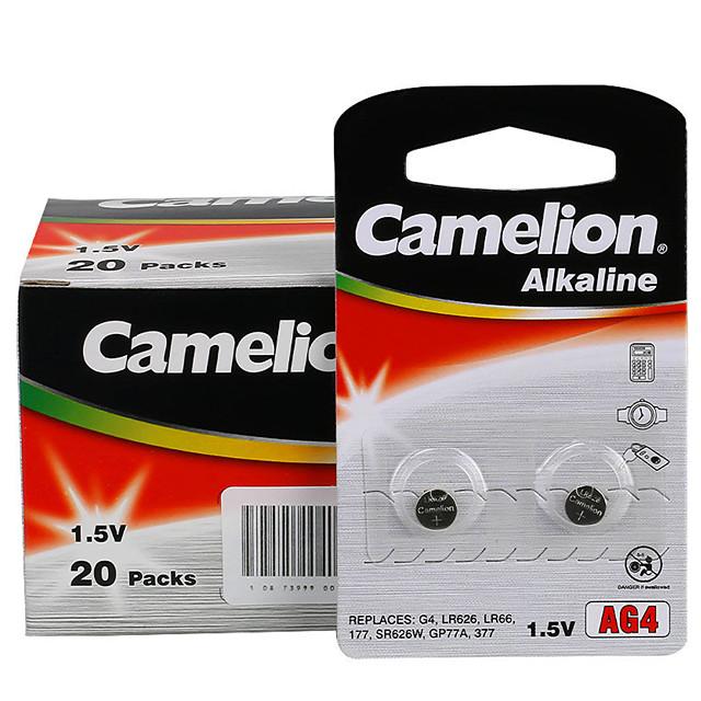 camelion ag4 Münze Knopfzelle Alkali-Batterie 1,5 V 40 ...
