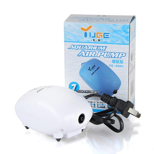 Acquari Acquario Pompe aria Aspirapolvere Risparmio energetico Silenzioso Plastica 1 pezzo 220 V / #