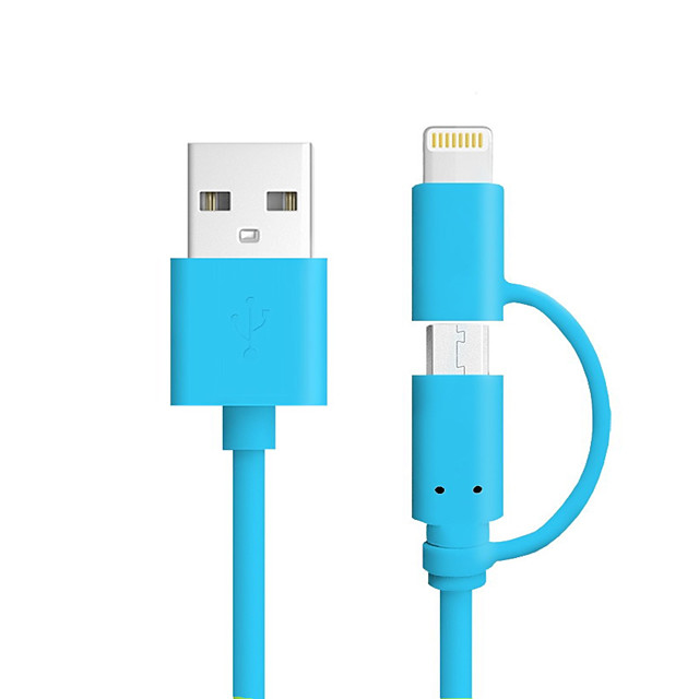 All-In-1 / Lightning Cables / Cable 1m-1.99m / 3ft-6ft Normal / All-In-1 Plastic / PVC(PolyVinyl Chloride) USB Cable Adapter For iPad / Apple / iPhone