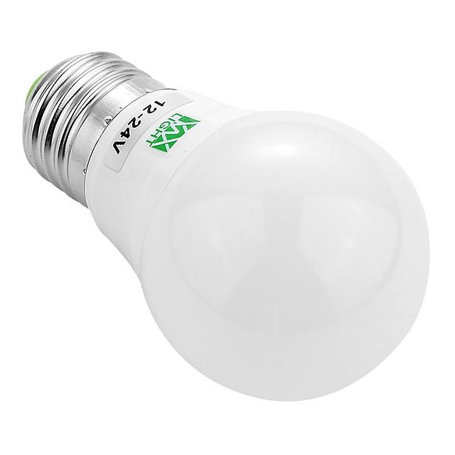 ywxlight® e27 / e26 5730smd 3w 6LED alb cald alb răcoros condus bec nu a condus nici o lumină puternică strălucire a condus becuri glob 12v 12-24v