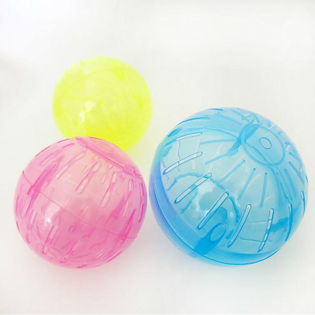 Τσιντσιλά / Χάμστερ Πλαστική ύλη Φορητά / Πολυλειτουργία / Στολές Ηρώων Κλουβιά Κίτρινο / Μπλε / Διαφανές