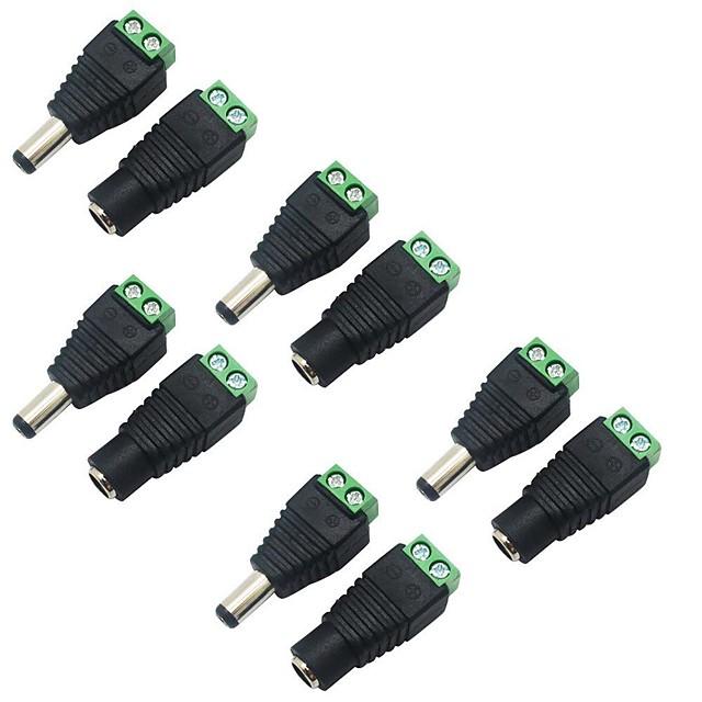 KWB 5pcs อุปกรณ์เสริมแสงสว่าง ขั้วต่อไฟฟ้า