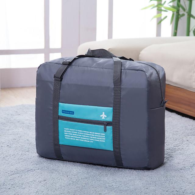 Cestovní taška Cestovní pořadatel Organizér zavazadel Velká kapacita Voděodolný Přenosný Skládací Polyester Nylon Dárek Pro / / Odolné