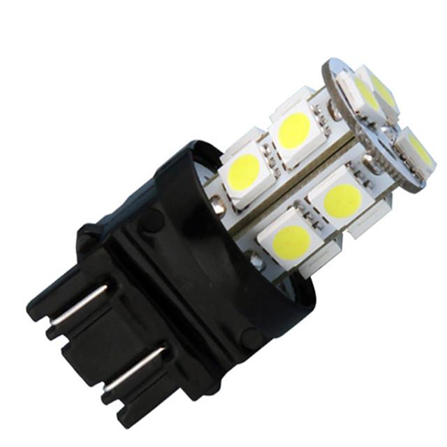 2pcs 3157 Mașină Becuri 4W LED Performanță Mare 220lm 30 LED coada de lumină