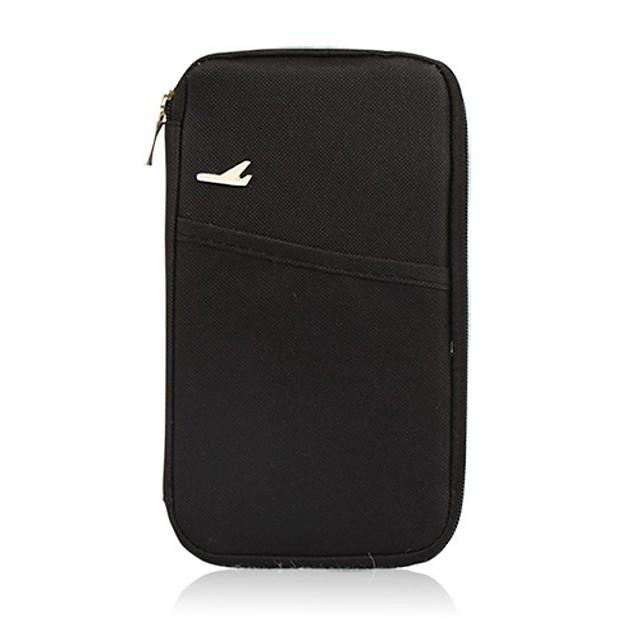 Organizer putne torbe Etui za putovnice i osobne iskaznice Etui za putovnicu Vodootporno Prijenosno Putna kutija Višefunkcijski Putovanje Najlon Poklon Za /