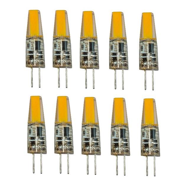 1.5W G4 Becuri LED Bi-pin T 1 LED-uri COB Decorativ Alb Cald Alb Rece 250lm 2700-3500/6000-6500