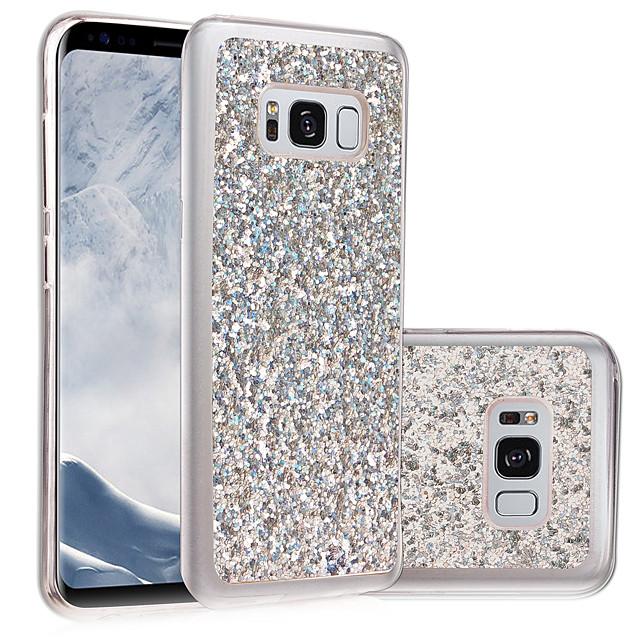 Case For Samsung Galaxy S8 Plus / S8 / S7 edge IMD / DIY Back Cover Glitter Shine Soft TPU