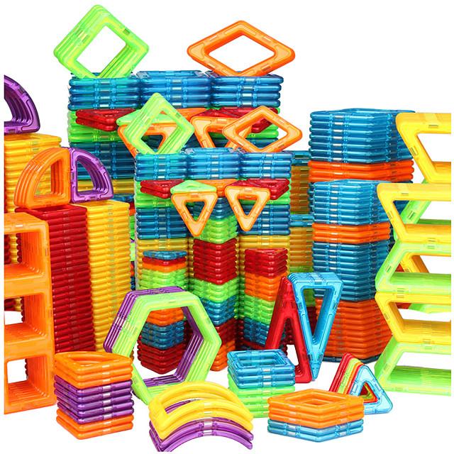 Magnetische blokken Magnetische tegels Bouwblokken Educatief speelgoed 20-128 pcs Automatisch Robot Reuzenrad verenigbaar polykarbonaatti Legoing Geschenk Magnetisch 3D DHZ Jongens Voor meisjes