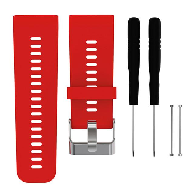 1 pc Bracelet de Montre  pour Garmin Bande de sport Silikon Remplacement Sangle de Poignet pour Vivoactive HR 26 mm