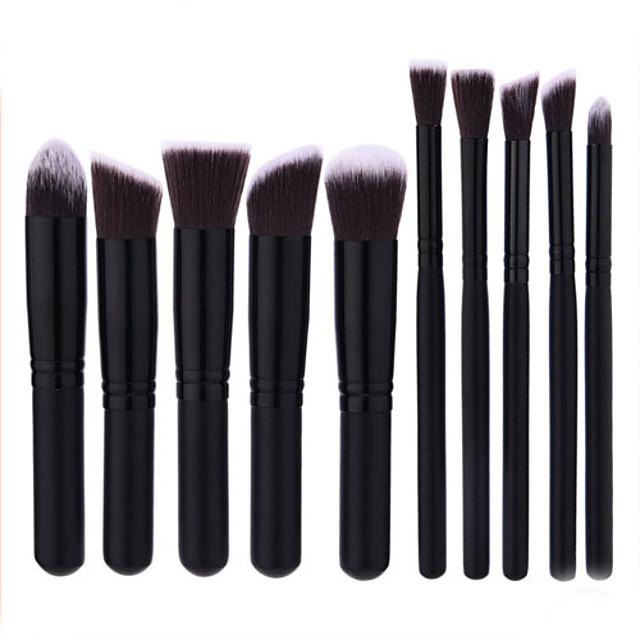 Profesyonel Makyaj fırçaları Fırça Setleri 1set Kayın Ağacı Makyaj Fırçaları için Makyaj Fırça Seti