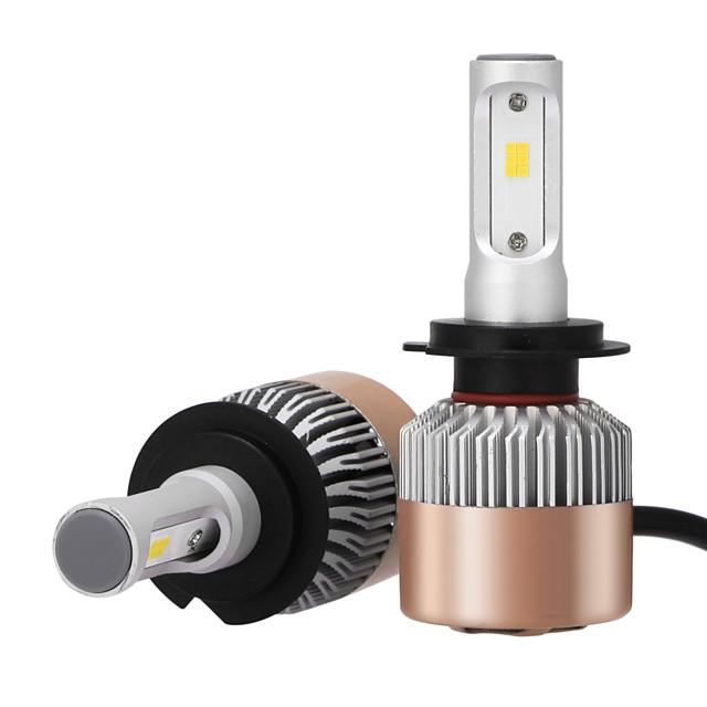 2pcs H7 Araba Ampul 36 W Entegre LED 3600 lm LED Kafa Lambası Uyumluluk