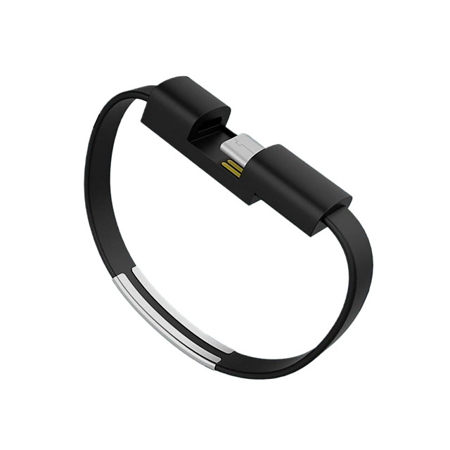 USB 2.0 / C Tipi Kablo <1m / 3ft Taşınabilir / Düz Plastikler / PVC USB Kablo Adaptörü Uyumluluk Samsung / Huawei / LG