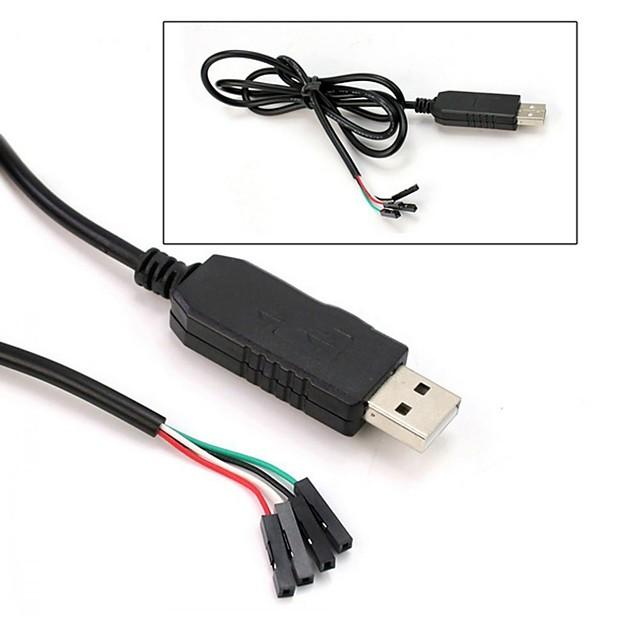 Pl2303hx usb til ttl til uart rs232 com kabelmodul omformer