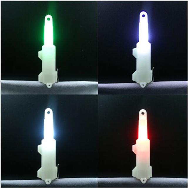 4pcs Lampe de Pêche LED Stroboscope d'alerte Pêche