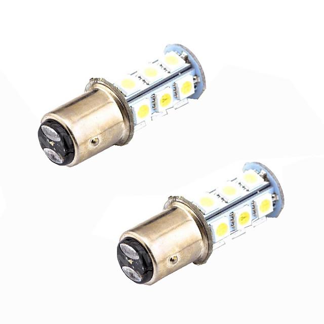 2pcs 1156 / 1157 Mașină Becuri 4 W SMD 5050 480 lm coada de lumină Pentru Παγκόσμιο