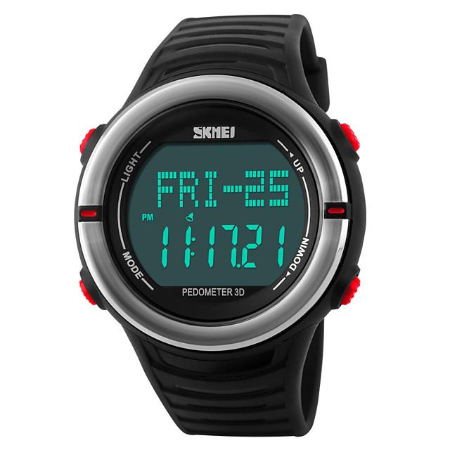 Akıllı İzle YYSKMEI1111 için Kalp Ritmi Monitörü / Yakılan Kaloriler / Uzun Bekleme / Su Resisdansı / Egzersiz Kaydı Kronometre / Pedometre / Alarm Saati / Kronograf / Takvim / Adım Sayaçları