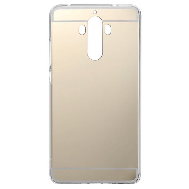 Кейс для Назначение Huawei Honor 4X / Huawei Honor 7 / Huawei P9 P10 Lite / P10 / Huawei P9 Plus Покрытие / Зеркальная поверхность Кейс на заднюю панель Однотонный Мягкий ТПУ / Huawei P9 Lite