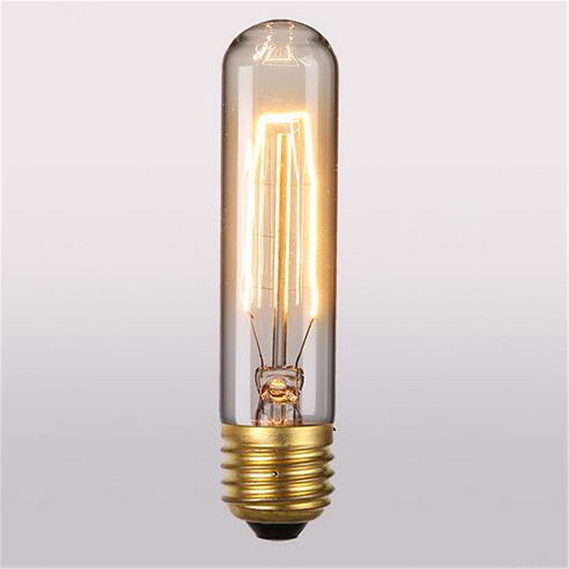 1 pc 40 W E26 / E27 T10 Blanc Chaud 2300 k Rétro / Décorative Ampoule à incandescence Vintage Edison 220-240 V / 110-130 V
