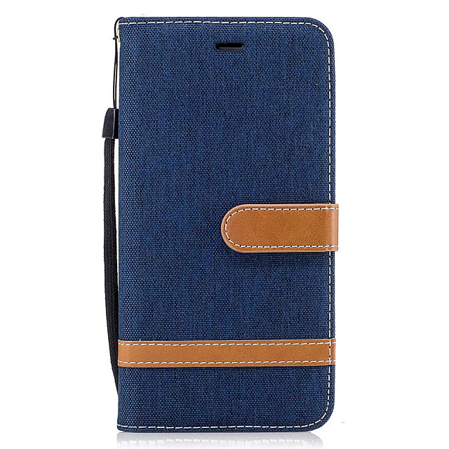 Case สำหรับ Samsung Galaxy J5 (2016) / J3 (2016) / J3 Wallet / Card Holder / with Stand ตัวกระเป๋าเต็ม สีพื้น Hard หนัง PU