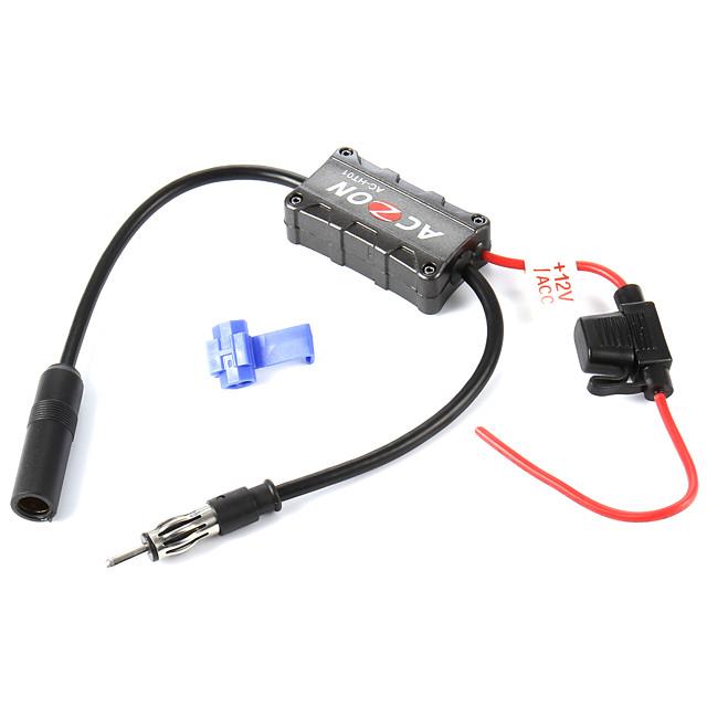 Booster amplificatore per antenna fm per autoradio per veicoli stabili di alta qualità 12v per stazioni radio am e fm