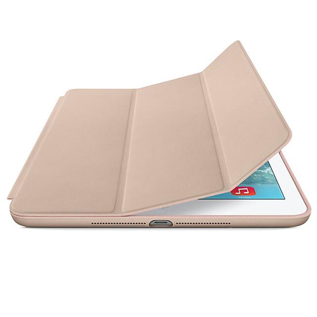 Coque Pour Apple Magnétique / Mise en veille automatique Coque Intégrale Couleur Pleine Dur faux cuir pour iPad Mini 5 / iPad New Air (2019) / iPad Air / iPad Pro 10.5 / iPad (2017)