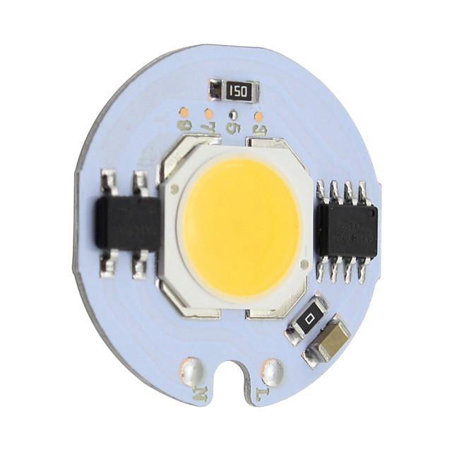 1pc 9w led cob chip ac 220v для diy led лампочка вход лампы smart ic flood light spotlight
