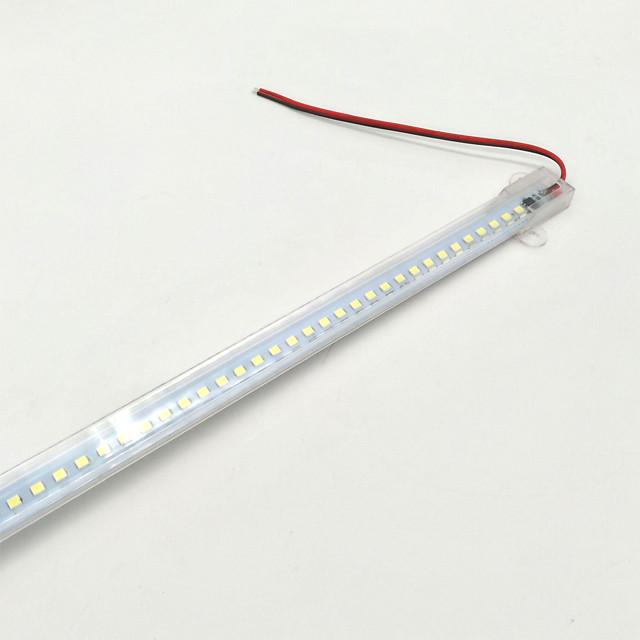 ZDM® 0.5M قضبان أضواء LED الصلبة 72 المصابيح 2835 SMD 15mm 1PC أبيض دافئ أبيض كول ضد الماء تصميم جديد أضواء شريط LED تيكتوك 220-240 V / IP65