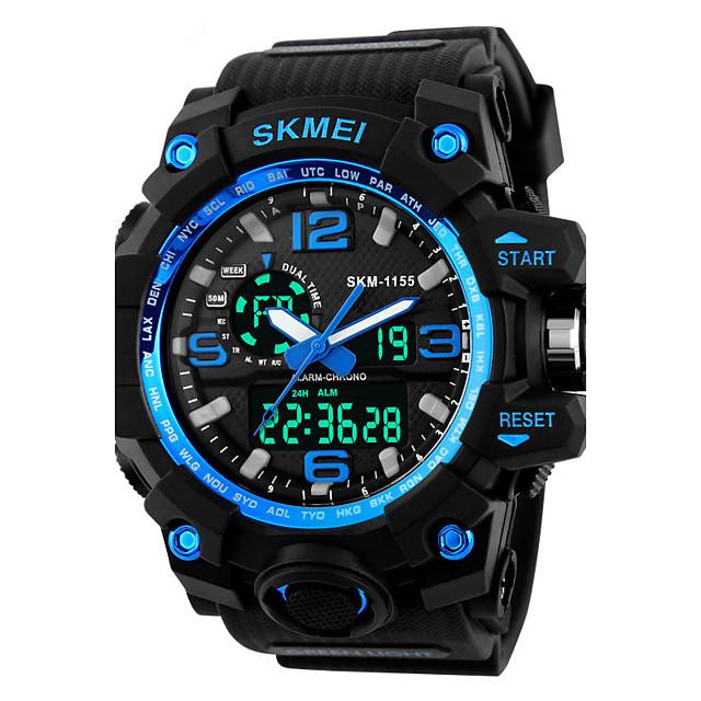SKMEI Bărbați Ceas Sport Ceas Militar Ceas La Modă Ceas de Mână Ceas digital Japoneză Quartz LED Calendar Cronograf Rezistent la Apă Zone