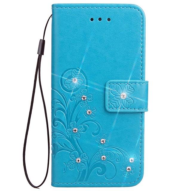Θήκη Za Xiaomi / Beijing Xiaomi Technology Co., Ltd. Redmi 2 Xiaomi Redmi Note 4 / Xiaomi Redmi Note 3 / Xiaomi Redmi Note 2 Novčanik / Utor za kartice / Štras Korice Jednobojni Tvrdo PU koža