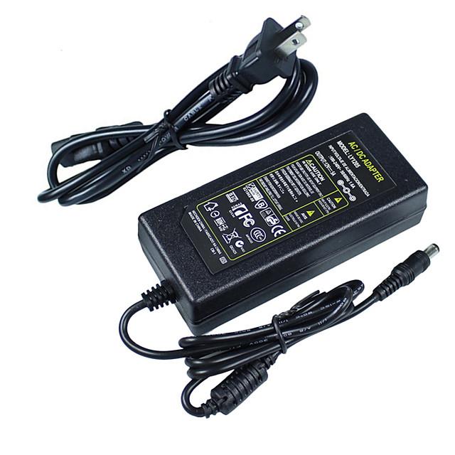 hkv® ac 100v - 240v la dc 12v 5a transformatoare de iluminat adaptor adaptor încărcător pentru convertizor pentru lumină led