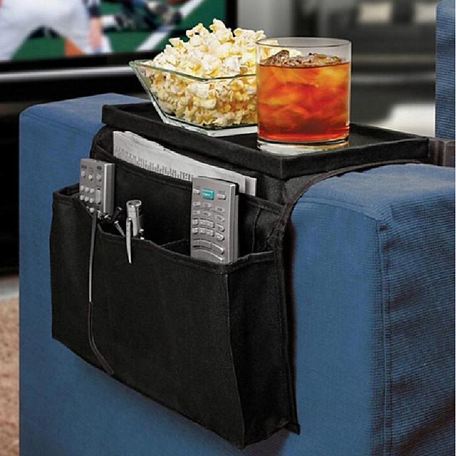معلقة أريكة الجانب تخزين حقيبة الهواتف المحمولة حامل التحكم عن بعد تخزين حقيبة منظم الكرسي الأريكة تخزين الحقيبة
