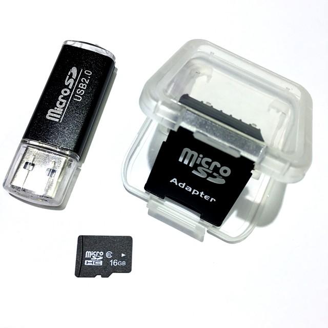 16GB Micro SD kart TF Kart hafıza kartı Class6 AntW5-16